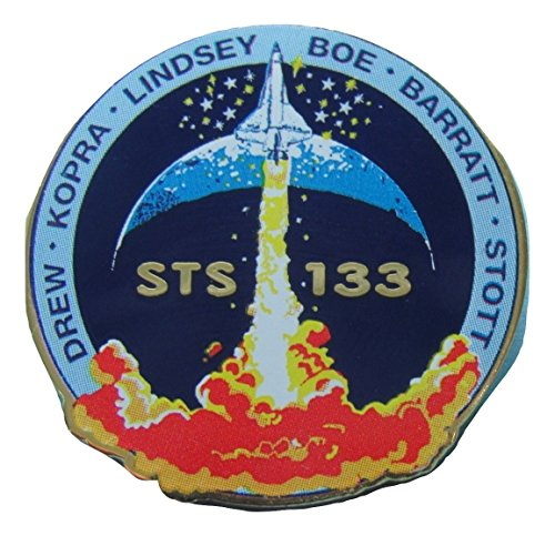 Sts-133 Mission Lapel Pin Official Nasa Space Program Edition -