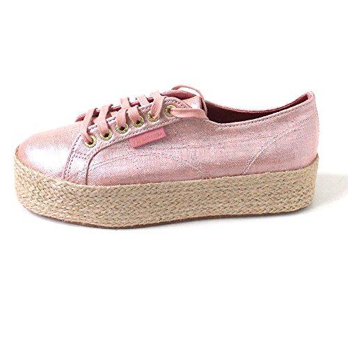Superga 2790 Linrbrropew, Unisex Erwachsene Sneakers, Beige, 40 EU