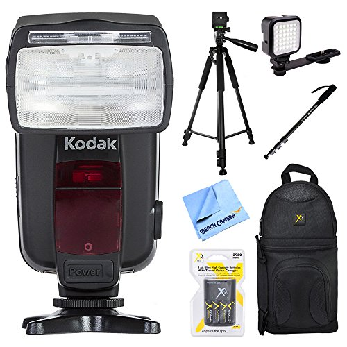 Kodak 18-180 Power Zoom Flash with Extra Large Display for N