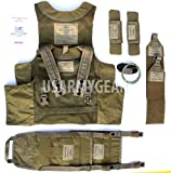 New SDS BAE Releasable Body Armor Vest Systems RBAV-SF Ranger + Accessories