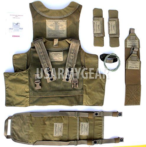 New SDS BAE Releasable Body Armor Vest Systems RBAV-SF Ranger + Accessories ()