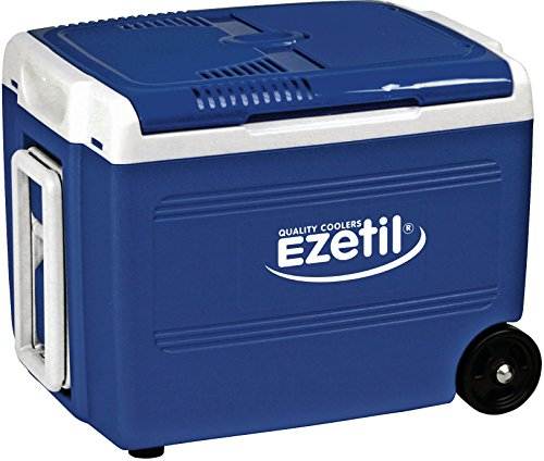 EZetil E40 RollCooler Thermoelektrische Kühlbox 12V, Blau/Blau