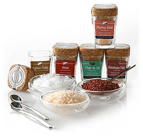 Limited Edition Artisan Salt Sampler - Classic by SaltWorks