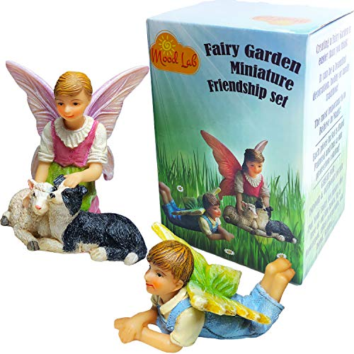 Mood Lab Fairy Garden Accessories Kit Miniature