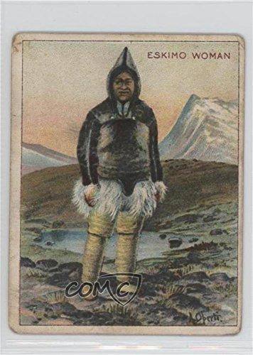 Eskimo Woman Ungraded COMC Poor to Fair (Trading Card) 1910 Hassan Arctic Scenes - Tobacco T30#ESWO]()