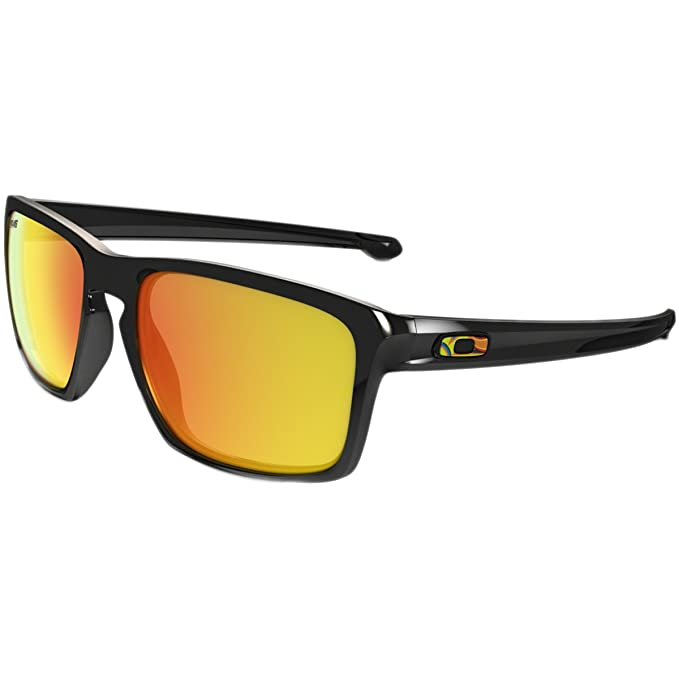 4af2e6e71a Amazon.com  Oakley Mens Sunglasses Black Green - Polarized - 57mm  Clothing