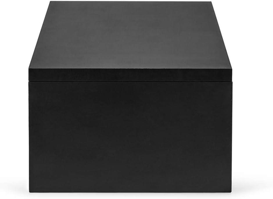 White Sunon Computer Monitor Stand Riser Wood Storage Organizer Desktop Small TV Stand Laptop Printer PC Monitor Stand 54X23.2X18cm