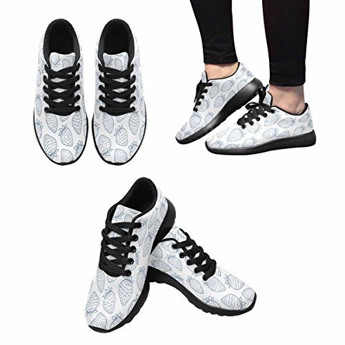InterestPrint Womens Jogging Running Sneaker Lightweight Go Easy Walking Comfort Sports Running Shoes Multi 8 iOjeVwP