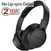 Avantree HS063 Bluetooth 4.1 Headphones Over Ear with Mic, Hi-Fi Stereo for Mobile Phones, PC, Lightweight, Foldable Wireless Wired Headset for Computer, Laptop [2-Year Warranty]