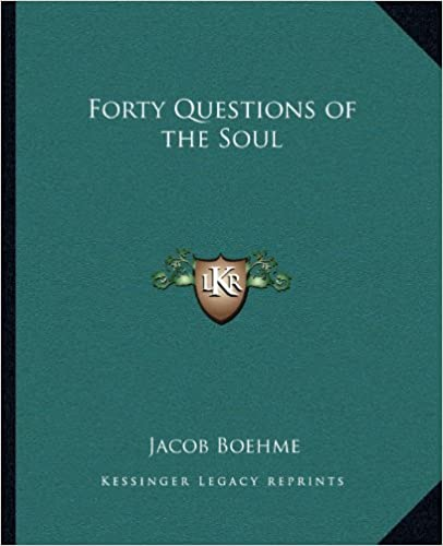 Book Forty Questions of the Soul