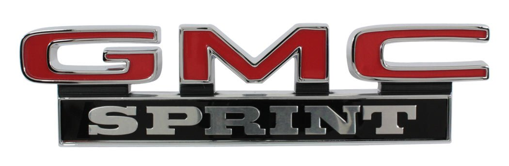 "1971-1972 GMC /""GMC Sprint/"" Trim Parts 9879 Truck Tailgate Emblem"