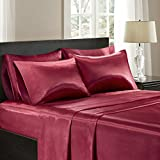 Best Bed Sheets Queens - Satin Silk Sheets Queen, Casual Silk Bed Sheets Review