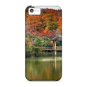 XiFu*MeiHigh Grade LastMemory Flexible Tpu Case For iphone 6 plua 5.5 inch - Autumn LakeXiFu*Mei