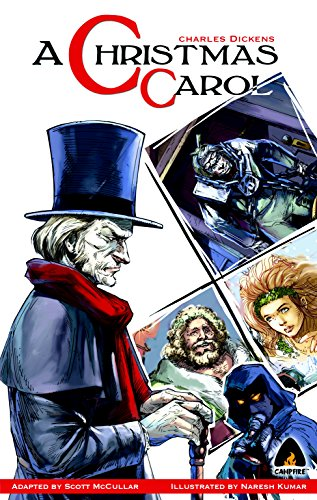 Christmas Carol Book Cover - A Christmas Carol: The Graphic Novel (Campfire Graphic Novels)