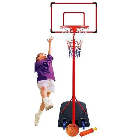 Juego de Soporte Ajustable para Canasta de Baloncesto de 261 ...