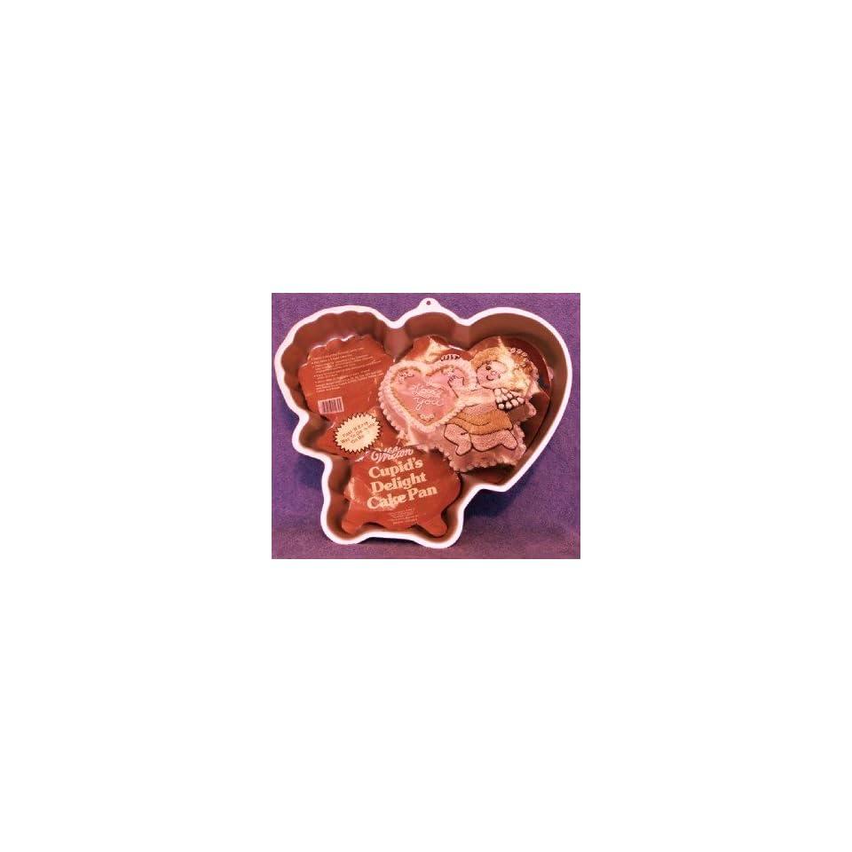 Wilton Cake Pan Romantic Cupid/Cupids Delight (502 4262, 1982)