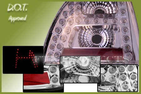 DEPO HONDA ACCORD 94-95 TAIL LIGHTS LED ALTEZZA LAMPS