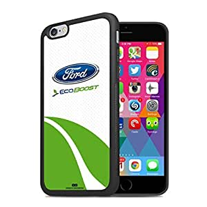 Ford Eco-Boost iPhone 6 Black TPU Rubber Cell Phone Case