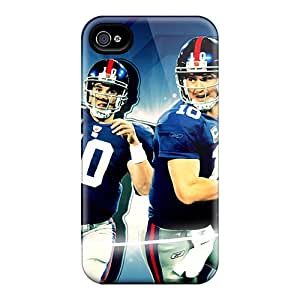 Anti-Scratch Cell-phone Hard Covers For Iphone 4/4s With Custom Vivid New York Giants Image CharlesPoirier