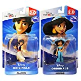 Disney Infinity 2.0 - Disney Originals - Aladdin / Jasmine Bundle (2-Pack)