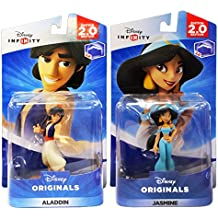Disney Infinity 2.0: Disney Originals - Aladdin / Jasmine Bundle (2-Pack)