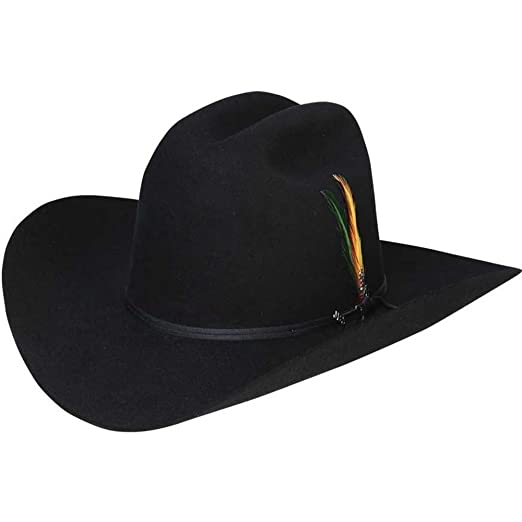 f76c6e7f Stetson Rancher Western Hat-Black-67_8 at Amazon Men's Clothing ...