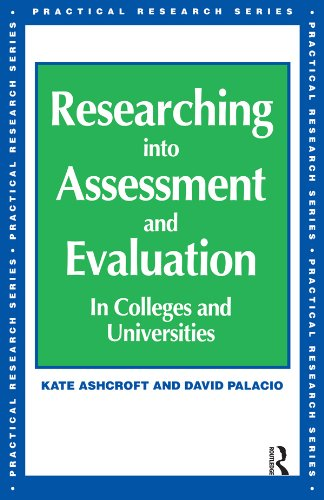 Download Researching into Assessment & Evaluation (Practical Research Series) Pdf