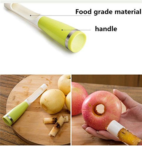 Show Apple pear fruit Corers slicer peeler cutter parer knife plastic 203.8cm fruit tools good helper. price