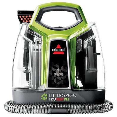 BISSELL Little Green ProHeat Pet Deluxe Carpet Cleaner with Trial Size Bottles by Generic