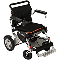 F KD FoldLite 21 KM Cruise Mileage Lightweight Portable Folding Electric Power Wheelchair