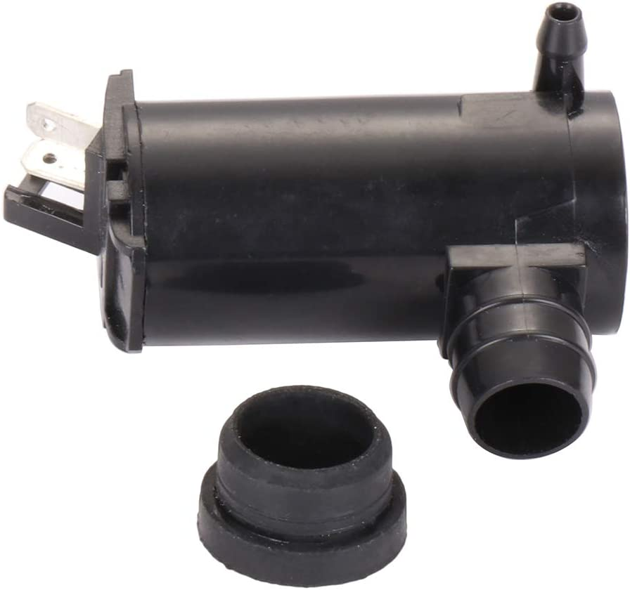 Windshield Washer Pump Motor Replacement fit for 1994-2007 Honda Accord 1988-2004 Honda Civic 2003-2011 Honda Element 2000-2005 Honda Odyssey 2003-2004 Honda Pilot 89001132