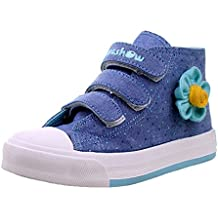 Henraly Sweet Floral High Top Canvas Shoes Dress Sneakers (Toddler/Little Kid)