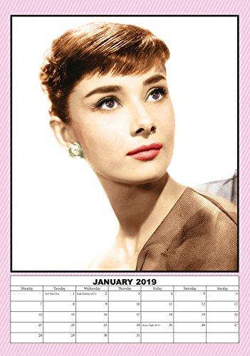 r Wall Calendar 2019 (Actress Audrey Hepburn)