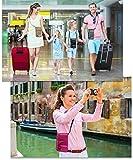 RFID Travel Neck Pouch Passport Holder | Premium