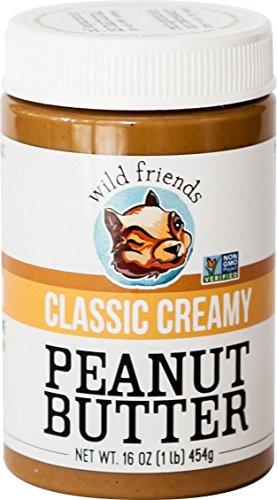 Wild Friends Foods Peanut Butter, Classic Creamy, 16 oz Jar