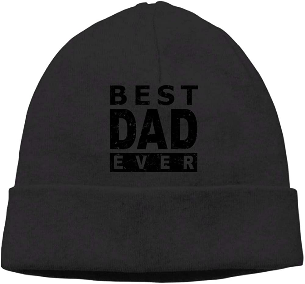 Aiw Wfdnn Best DAD Ever Beanie Hat Knit Cap Mens