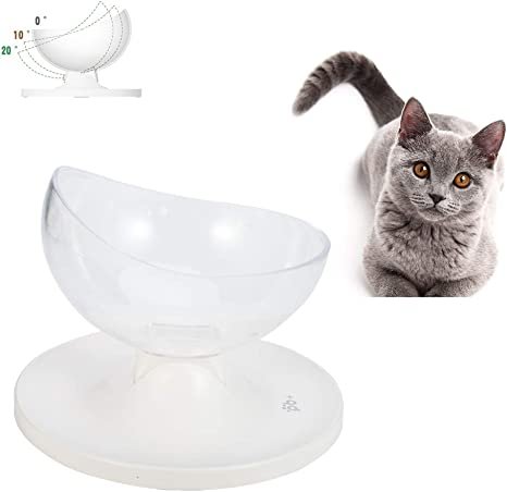 olyee Cuencos de Comida para Gatos Raisedcat, Cuenco de Agua para ...