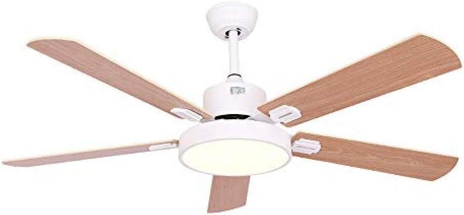 Ventilador de Techo con Control Remoto de luz para Ventilador de ...