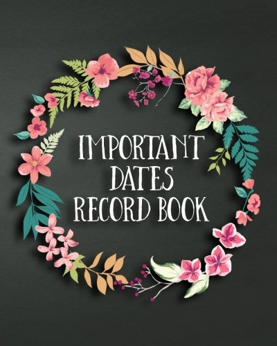 rd Book: Important Dates Gift And Card Notebook ()