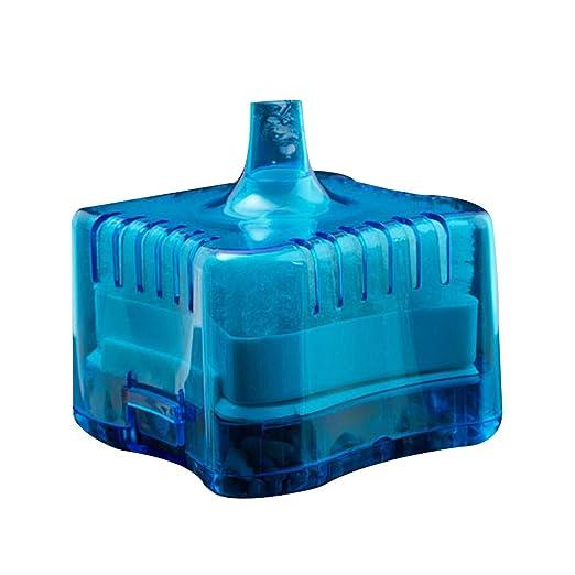 Pegcdu Mini Ronda Tienda Fish Tank Súper neumático Bioquímica casa de Acuario Filtro de carbón Activado: Amazon.es: Hogar