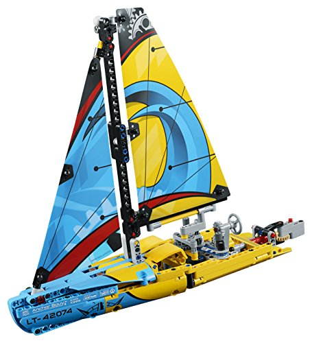LEGO- Technic Yacht da Gara, Multicolore, 42074 2 spesavip