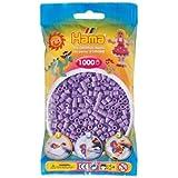 Hama - 207-45 - Loisirs Créatifs  - Perles et Bijoux  - Sachet 1000 Perles Violet  Pastel