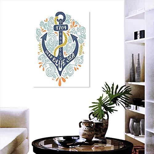 Pegatinas de pared de ladrillo para niños, decoración náutica, para acuario, dibujos animados, pulpo, delfín, tiburón,...