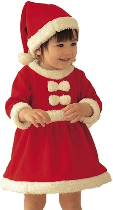 Bebé Niña Invierno Navidad Cosplay Vestido Traje Vestido ...