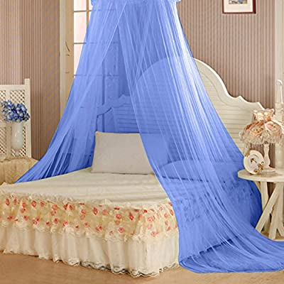 TRENTON Bedding Decor, Summer Sweet Style Round Bed Canopy Dome Mosquito Net
