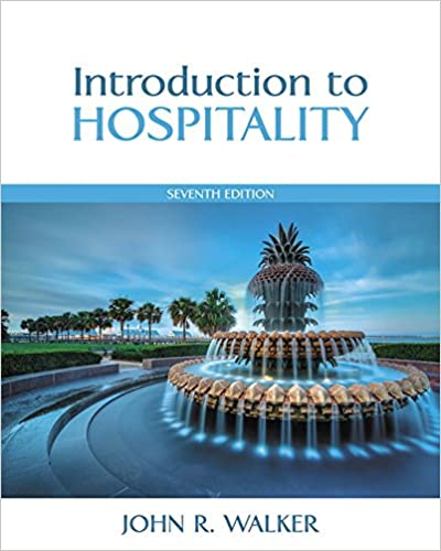 Introduction to hospitality 7th edition john r walker introduction to hospitality 7th edition john r walker 9780133762761 amazon books fandeluxe Gallery