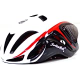 Cycling Helmet Ultralight Integrally-Molded Bicycle Bike Helmet (white/blk)