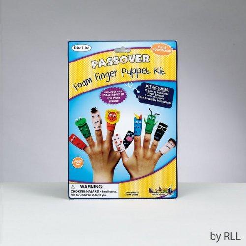 Rite Lite Ten Plagues Foam Finger Puppet Kit