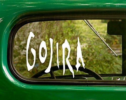 Gojira Vinyl Decal Sticker Rock Metal Band Car Truck Laptop Guitar