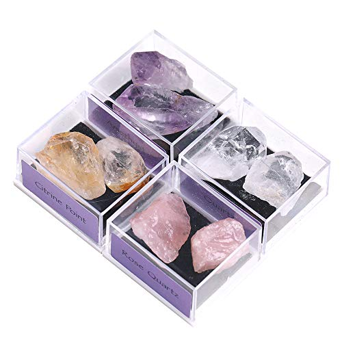 little box of crystals and gems - 6